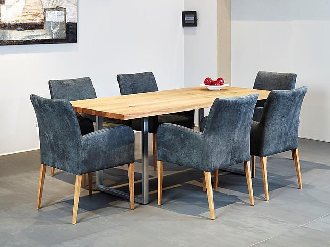 Tafel Metalen Onderstel : Eettafels balkeneiken tafelblad met metalen onderstel tafel