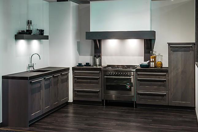 Overige showroomkeuken landelijke keuken showroomkeuken for Werkblad keuken keramiek