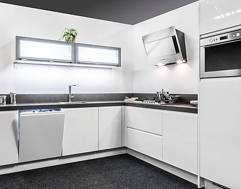 Hoogglans Witte Keuken : Witte moderne hoogglans keuken