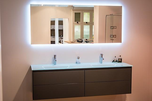 Wastafels badmeubel met twee wasbakken en spiegel: overige möbel von