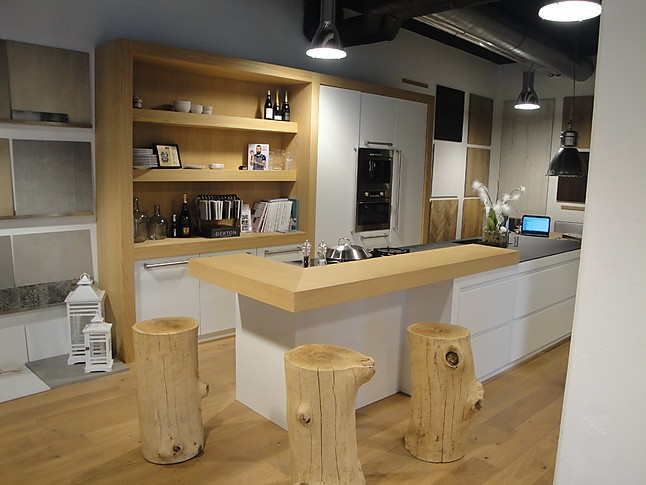 Greeploze Keukens Aanbieding : Overige Showroomkeuken Handgemaakte moderne greeploze