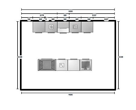 Keukenplanner opgeslagen ontwerp uit de online keukenplanner van 14 11 2012 - Keukenontwerp ...