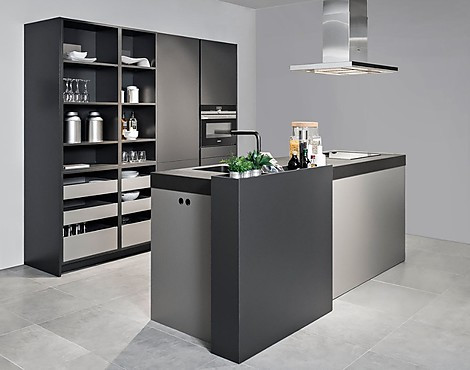 SieMatic keukeneiland in Urban style - H14