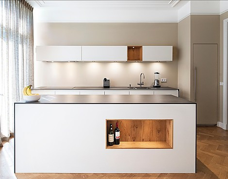 Project Den Haag - Wood & Pure White design