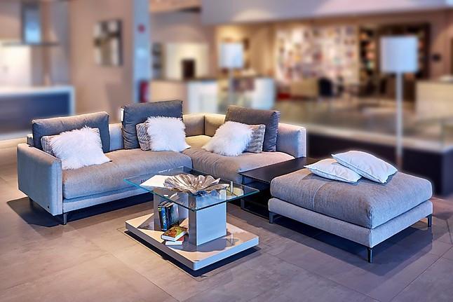 banken nuvola stof grijsbeige hoekbank rolf benz m bel. Black Bedroom Furniture Sets. Home Design Ideas