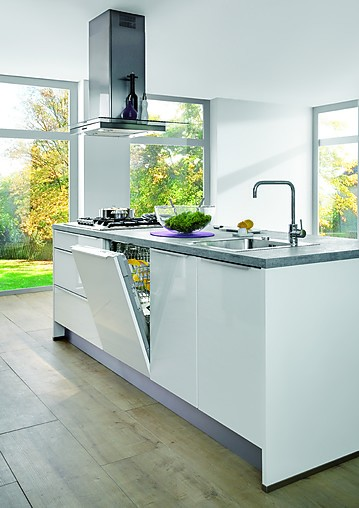 KüchenTreff Showroomkeuken met kookeiland showroomkeuken