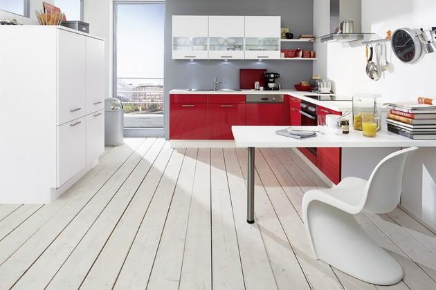 Keuken Rood Wit : Inspiratie: keukenfoto's in de keukengalerie (pagina 28)