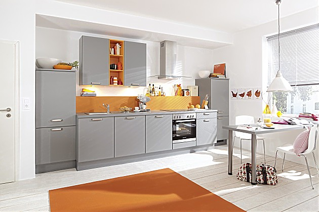 Keuken Rood Grijs : K?chenTreff: Keukenfoto's in de keukengalerie (pagina 2)