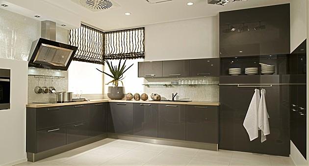 Keuken Antraciet Hoogglans : vormige keuken antraciet hoogglans lak