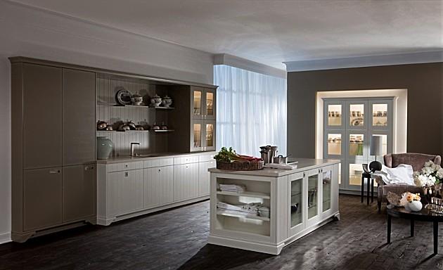 Landelijk Klassieke Keuken In Het Wit : Deze landelijke keuken met ...