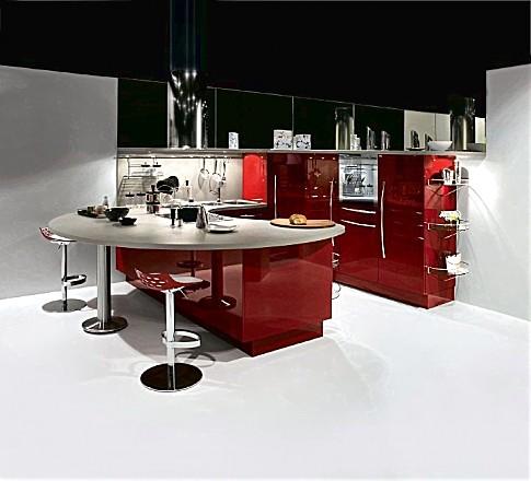 Inspiratie keukenfoto 39 s in de keukengalerie pagina 13 - Keuken in rood en wit ...