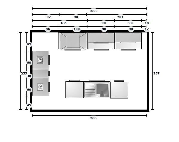 Keuken plannen d moderne keuken plannen g keuken plannen - Afbeelding van keuken amenagee ...