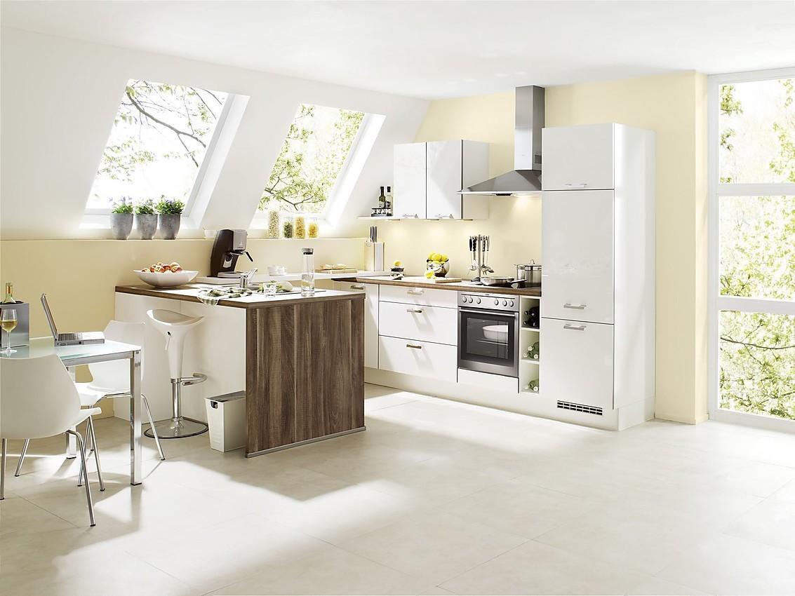 Keuken Witte Kleine : Gloss wit