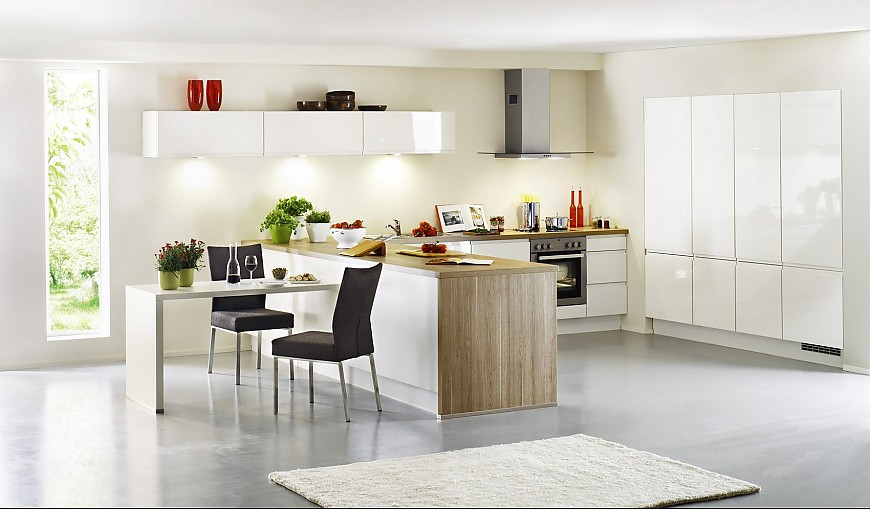 Verlichting Keuken Zonder Bovenkasten : Stil Moderne keukens, Planungsart L-vormige keuken