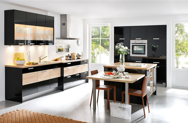 Keuken Kookeiland Zwart : Primo zwart zebrano