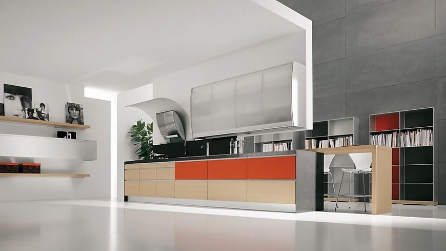 Valcucine keukens keukenfoto 39 s in de keukengalerie pagina 2 - Keuken licht eiken ...