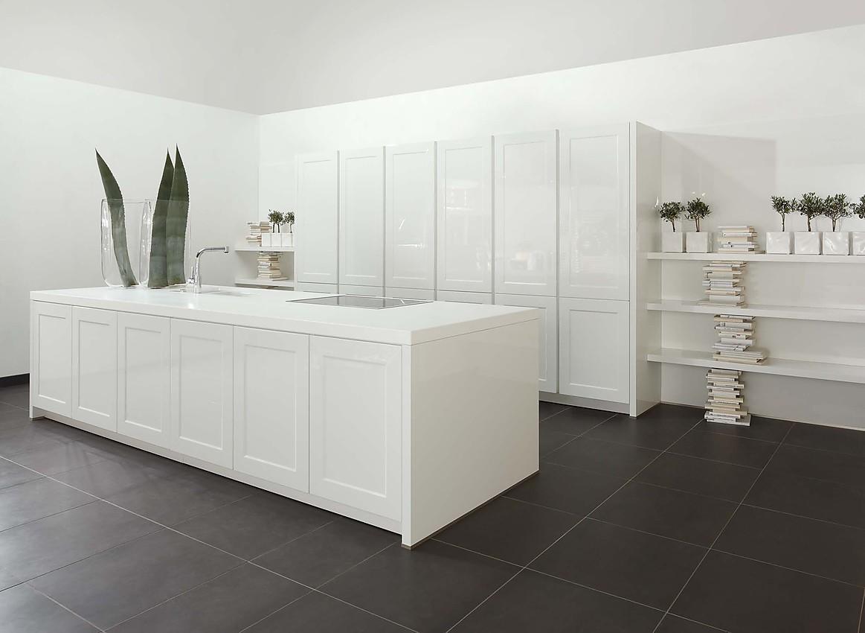 Palazzo hoogglans - Witte keukenfotos ...