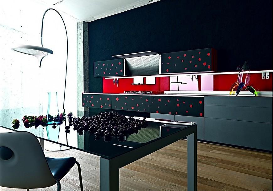 Valcucine keukens keukenfoto 39 s in de keukengalerie pagina 2 - Keuken met rode baksteen ...