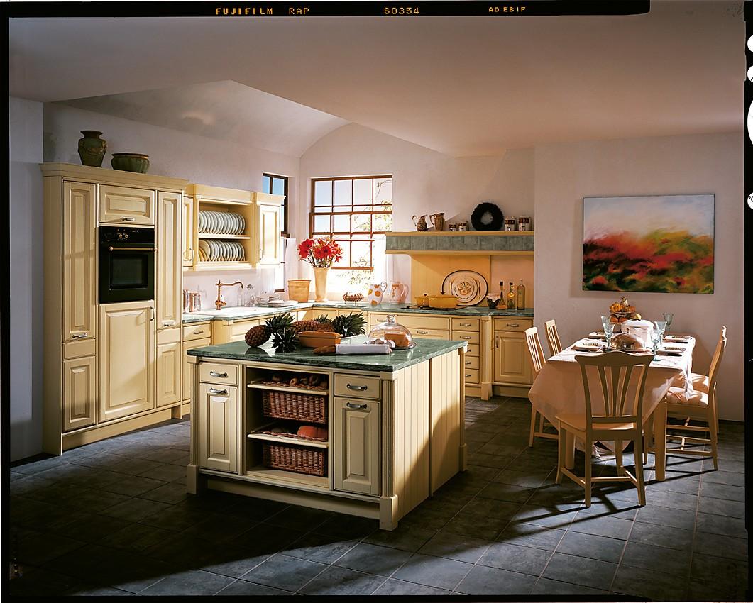 Gezellige en moderne landelijke keuken in l vorm
