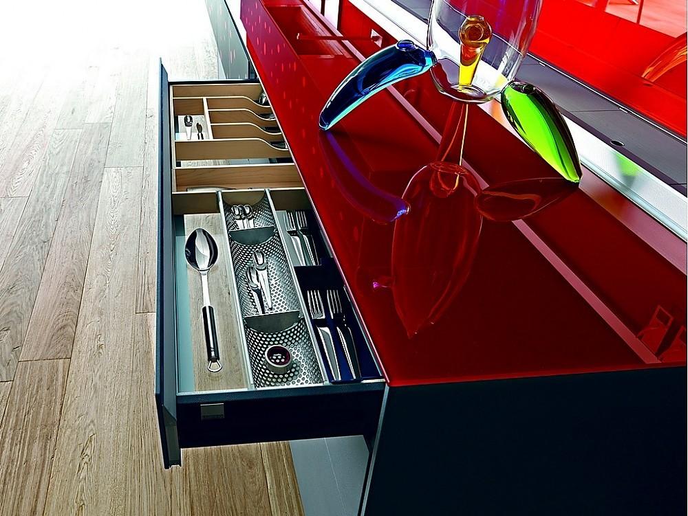 Open woonkeuken detail - Living
