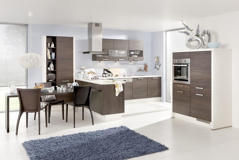 Rio eiken maron - Kleine keukenstudio ...