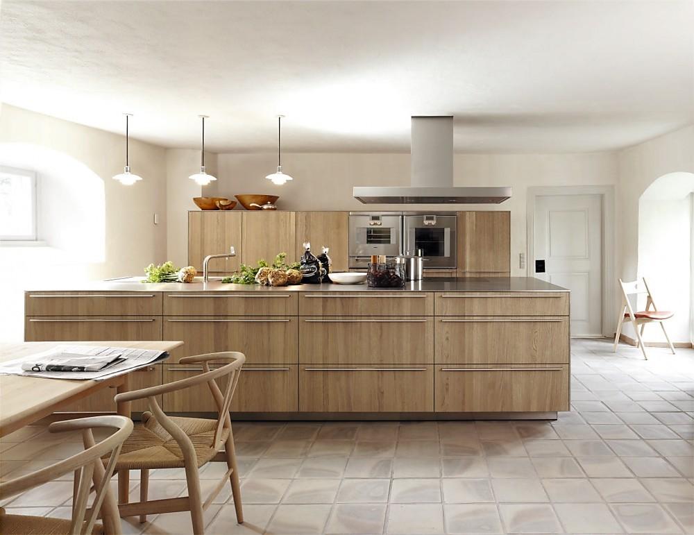 Eiken Keuken Grijs : Design eilandkeuken b3 eiken natuurlijk grijs