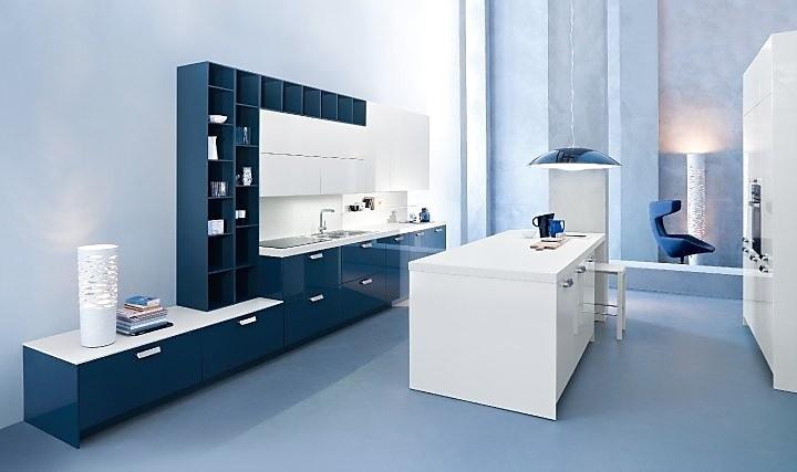 Moderne Blauw Keuken : Franssen keukens landelijke keukens