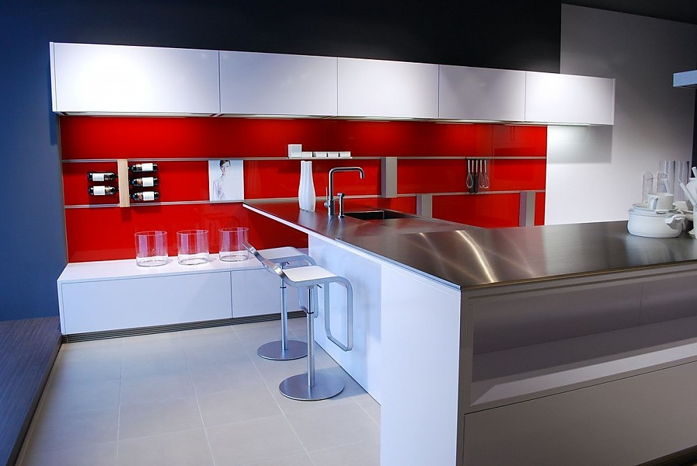 Zwevende Open Keuken : Open keuken