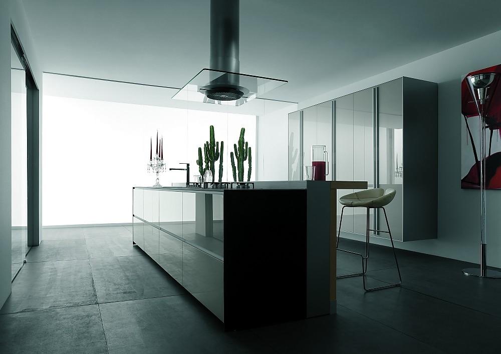 Einde Witte Keuken : Greeploze design keuken b met eiland in het wit
