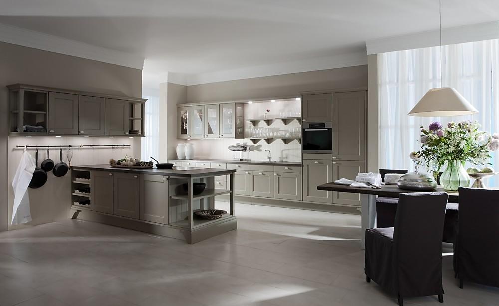 Beige Landelijk Keuken : Domus color