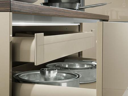 Keukenkasten of keukenladen inrichting keuken