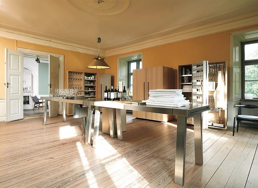 Bulthaup keukenfoto 39 s in de keukengalerie - Wandbekleding keuken roestvrij staal ...