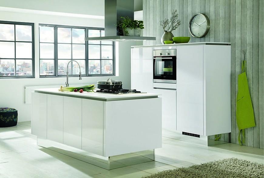 Inspiratie Witte Keuken : Inspiratie keukenfoto s in de keukengalerie