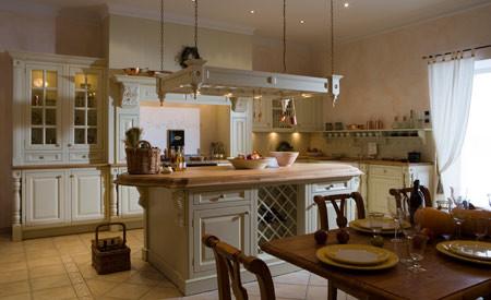 Landelijke keuken: engels, in cottage stijl