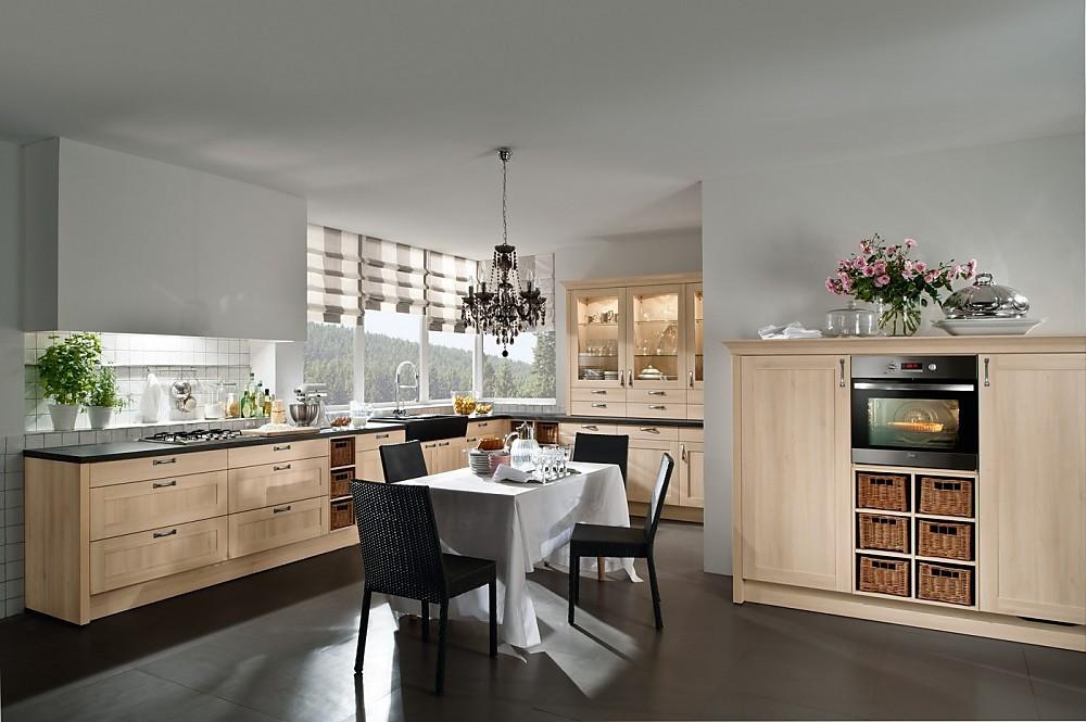 Kleine Keuken L Vorm : . Zuordnung: Stil Landelijke keukens, Planungsart L-vormige keuken