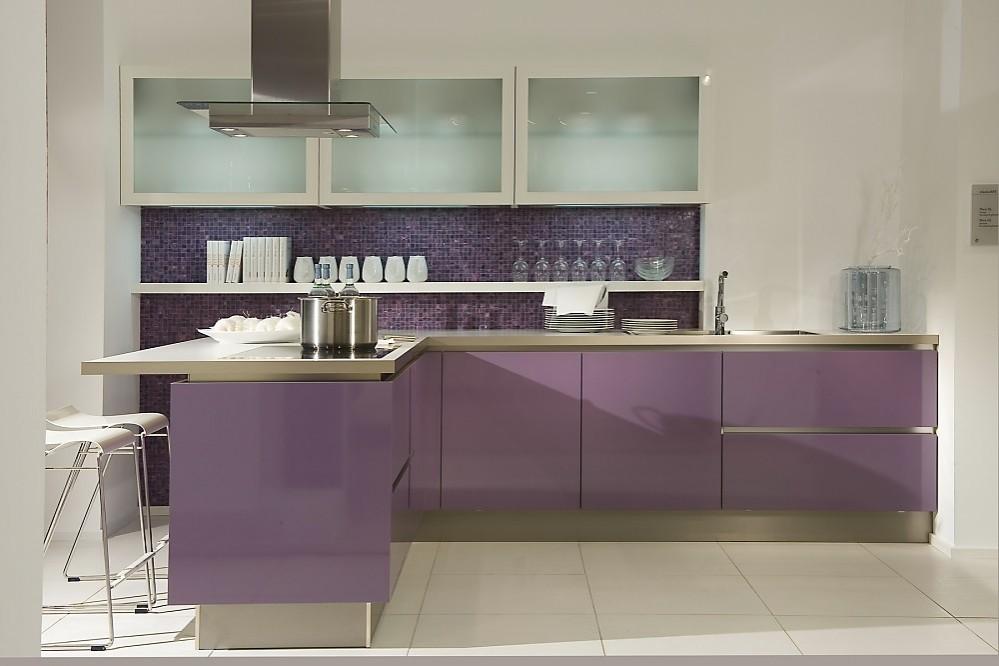 ... worden. Zuordnung: Stil Moderne keukens, Planungsart L-vormige keuken