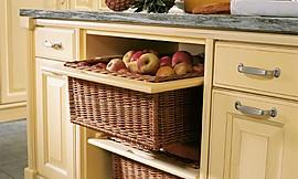 Landelijk Geel Keuken : Inbouwkeuken landelijke stijl met warm eiken decor