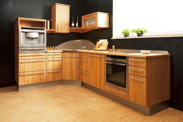 Moderne Massieve Keuken : Keuken van licht volledig massief hout ...